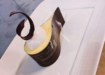 craquant citron et glace yogourt