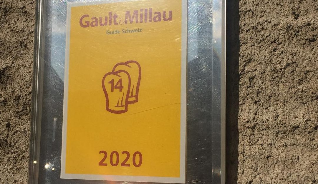 Gault & Millau 2020 – 14 points