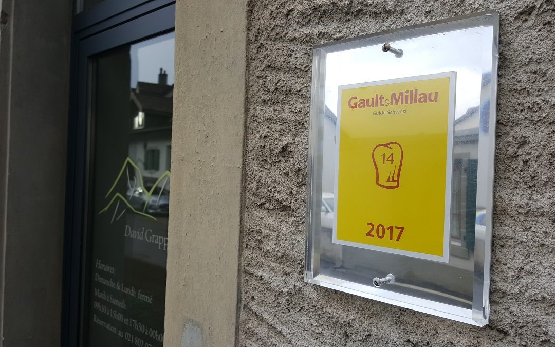 Gault & Millau 2017 – 14 points